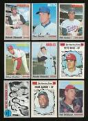 1970 Topps Partial Set