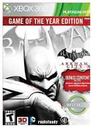 Batman Arkham City Xbox 360 New