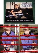 Justin Bieber Autograph