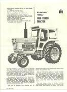 International 1466 Tractor
