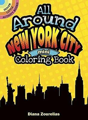 All Around New York City Mini Coloring Book (Dover Little Activity Books) - New
