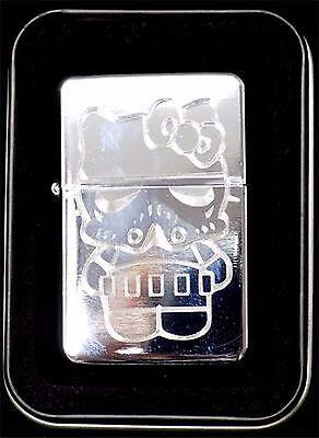 Hello Kitty Storm Trooper Star Wars Engraved Chrome Cigarette Lighter LEN-0042](Hello Kitty Stormtrooper)