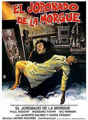 Hunchback Of Morgue Poster 03 Metal Sign A4 12x8 Aluminium - Morgue Sign