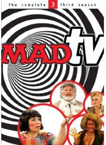 Mad Tv: Season 3 - 4 DISC SET (2013, REGION 1 DVD New)