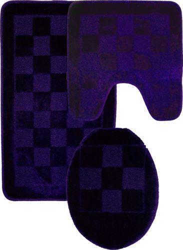 Purple Bathroom Rugs