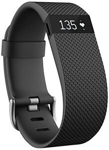 Small Black Fitbit Charge HR