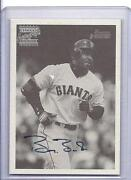 Barry Bonds Auto