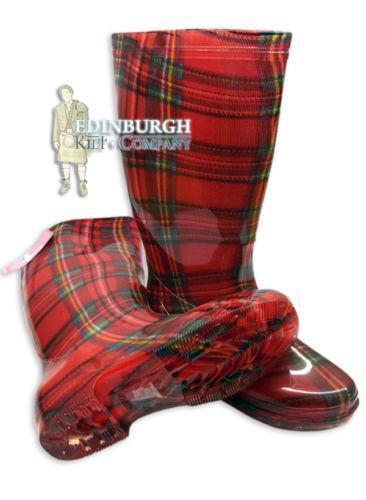 e07fcb6a1e4 Tartan Boots