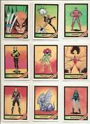 Marvel Universe Series 1 Cards