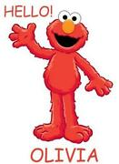 Elmo Iron On