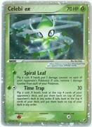 Celebi Pokemon Card