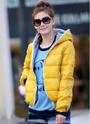 Womens Yellow Hoodie