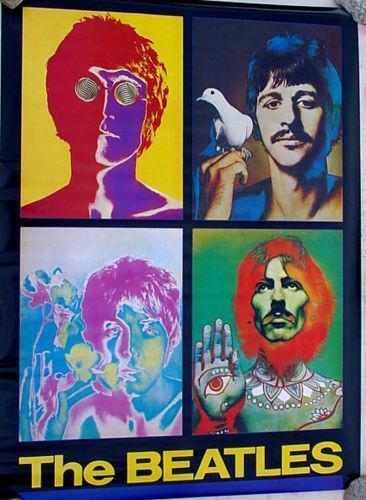 Beatles Richard Avedon Posters Ebay
