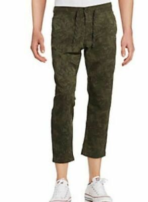 DOCKERS CAMOUFLAGE Alpha Collection On-The-Go Cropped Khakis Mens 34x32