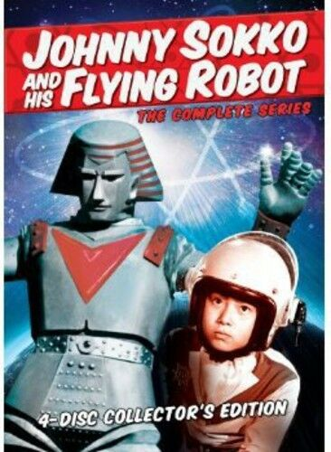 Johnny Sokko and His Flying Robot: The Complete Series  (2013, REGION 1 DVD New)