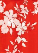 Red Hawaiian Fabric