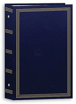 3-ring pocket NAVY-BLUE album for 504 photos by Pioneer - 4x6, New