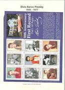 Elvis Presley Stamp Collection