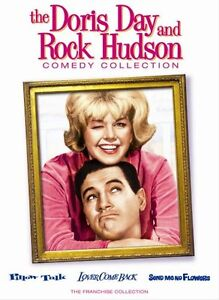 DORIS DAY ROCK HUDSON COMEDY COLLECTION DVD New 3 Films