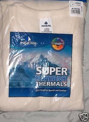 Schwere Thermo-unterwäsche (Thermo Shirt Top Super Schwer 50/50 Größe: S, M, L, XL, 2x,3x,4x,5x)