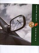 MGF Brochure
