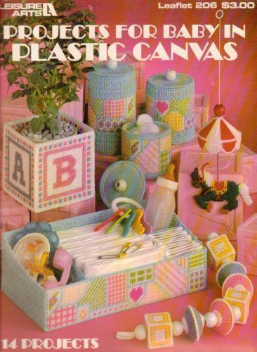 Plastic Canvas Baby Patterns Ebay