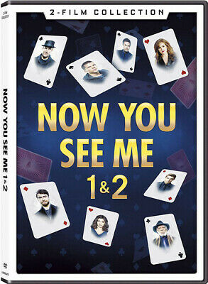 Now You See Me 1 & 2 [New DVD]