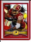 2012 Topps Chrome Red Refractor 25