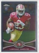2012 Topps Chrome LaMichael James