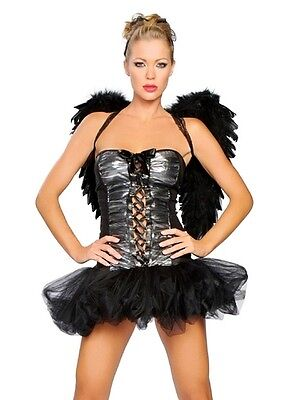 Kostüm Gefallener Engel mit Flügel für Jugendliche Kostüme Party - Party Kostüm Für Jugendliche