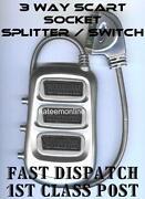 3 Way Scart Switch