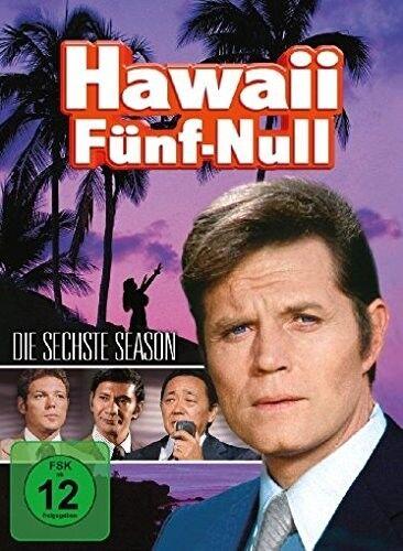 JAMES MCARTHUR JACK LORD - HAWAII 5-O (ORIGINAL) S6 MB  - JACK LORD - 6 DVD NEU