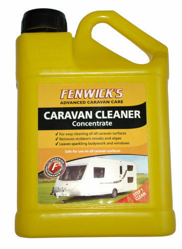 Caravan Cleaner 1lt Concentrate 40 Washes, Safe on All Caravan Surface Fenwicks