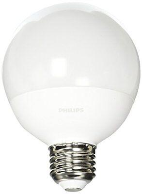 Philips 60w Soft White Frosted G25 Globe Led Energy Star Light Bulb 3-pack
