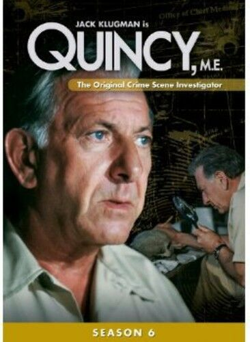 Quincy, M.E.: Season 6 [5 Discs] (2013, REGION 1 DVD New)