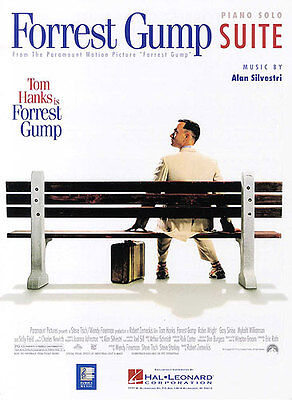 Forrest Gump Suite Piano Learn to Play Pop Movie Theme Songs Music Book - Forrest Gump Suit