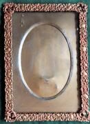 Antique Copper Picture Frame