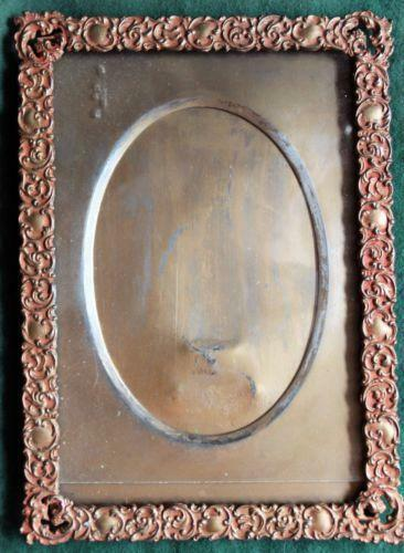 Antique Copper Picture Frame Ebay
