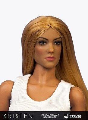Triad Toys Kristen Female Headsculpt 1 6Th Sixth Scale