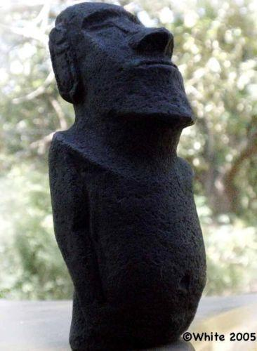 Easter island carving ebay