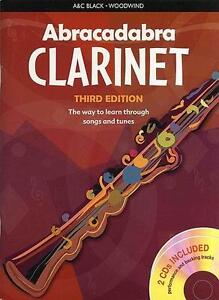 Abracadabra Clarinet BOOK & 2 CDs Tutor 3rd Edition NEW