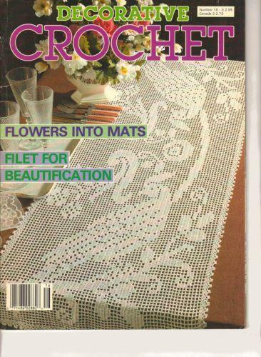 Filet Crochet Ebay