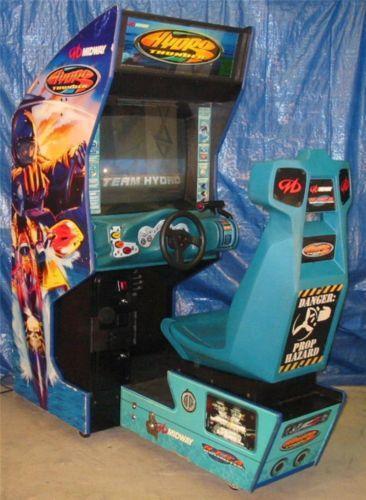 Hydro Thunder Video Arcade Machines Ebay