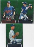 2012 Bowman Platinum Green Lot