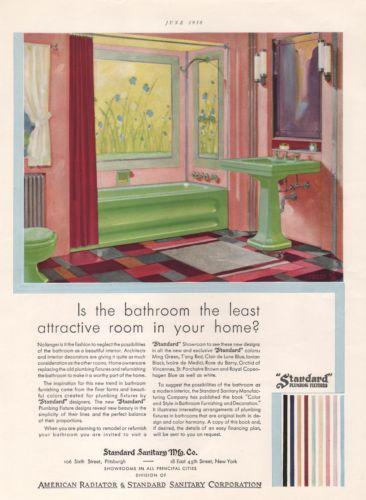 Vintage Bathroom Ads Advertising Ebay