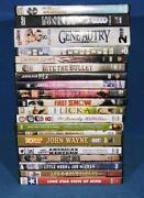 John Wayne DVD Lot