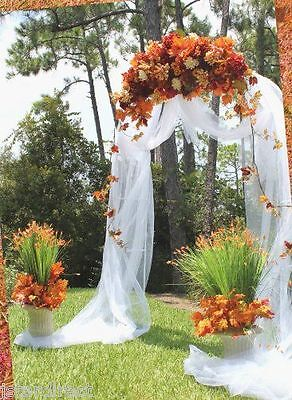 7.5 Feet Metal Garden Arch for Wedding Prom In & Outdoor Decorative  - Decorations For Prom