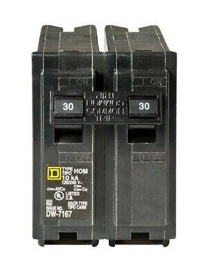 Sqaure D Hom230 30 Amp 2 Pole Breaker New Open Box