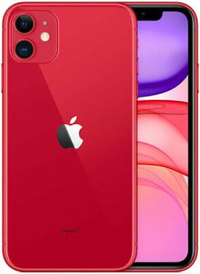 """APPLE IPHONE 11 64GB 6.1"""" RED ROSSO NUOVO ORIGINALE SIGILLATO"""