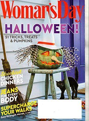 Woman's Day Magazine October 2017 | Halloween! [Single Issue Magazine] [Jan 01, - Woman's Day Halloween 2017